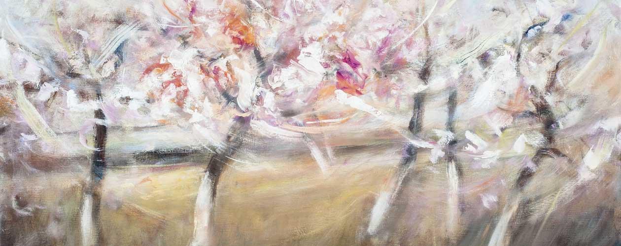 Peinture à l'huile - Le printemps